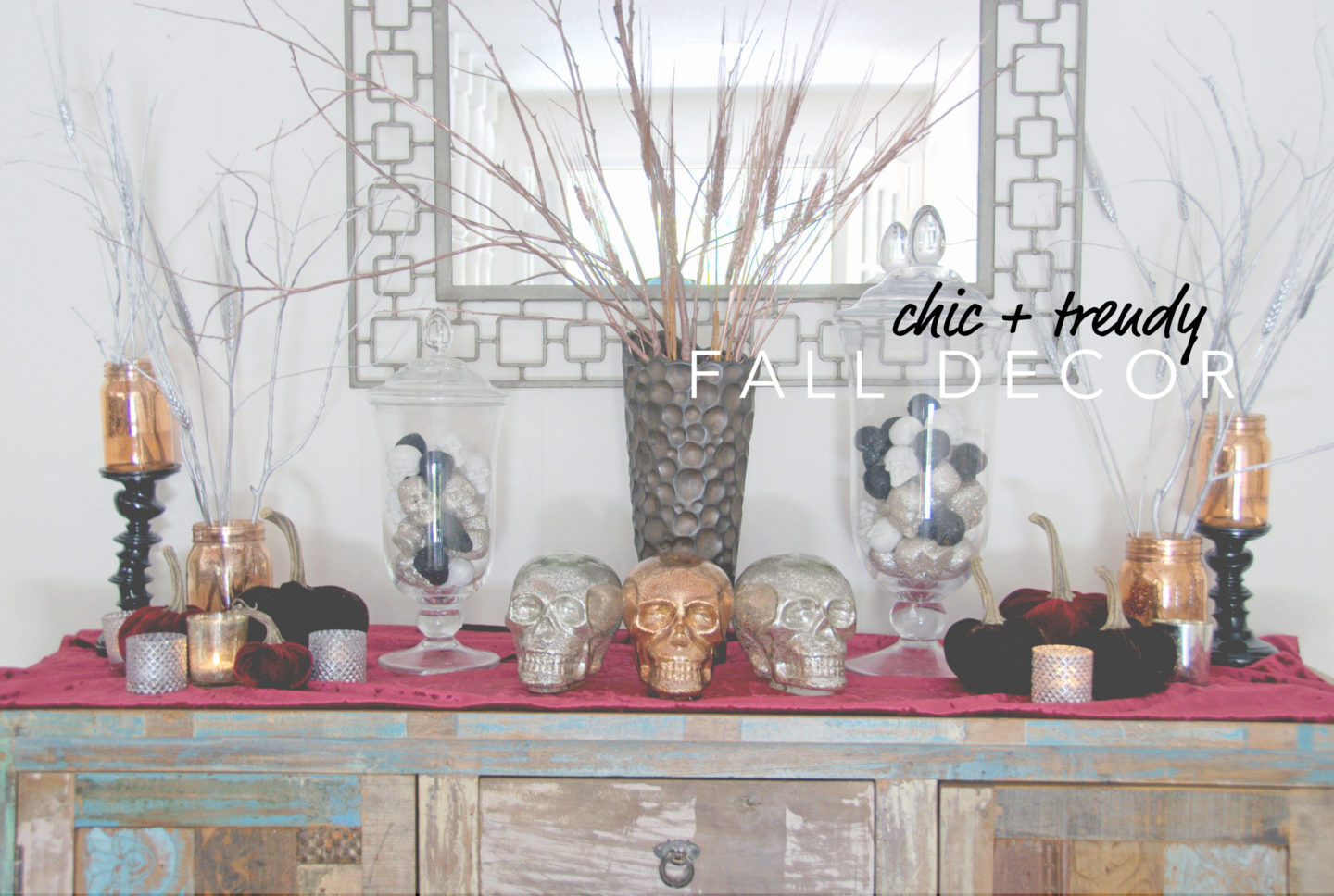 Chic + Trendy Fall Decor on a Budget